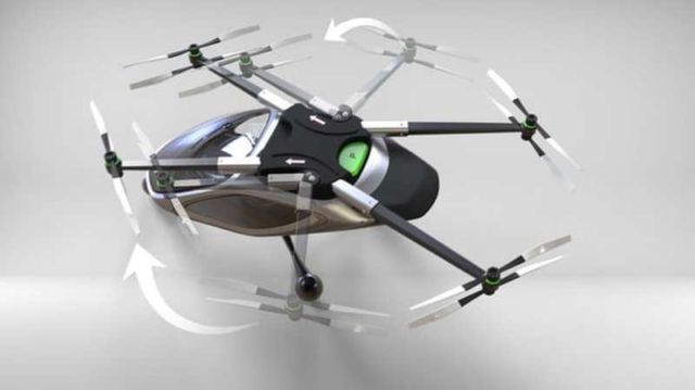 Jetpack Aviation electric multirotor VTOL concept (3)
