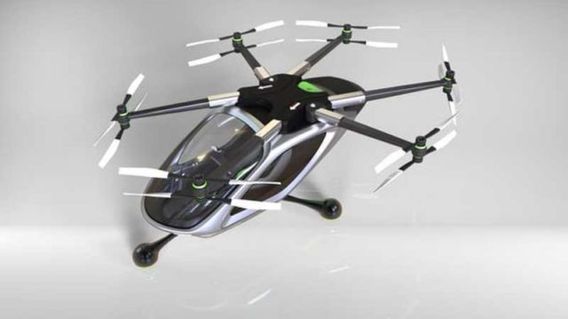 Jetpack Aviation electric multirotor VTOL concept (2)