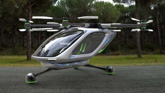 7 Seater Vehicles >> Personal Flying Car by a Jetpack company – wordlessTech