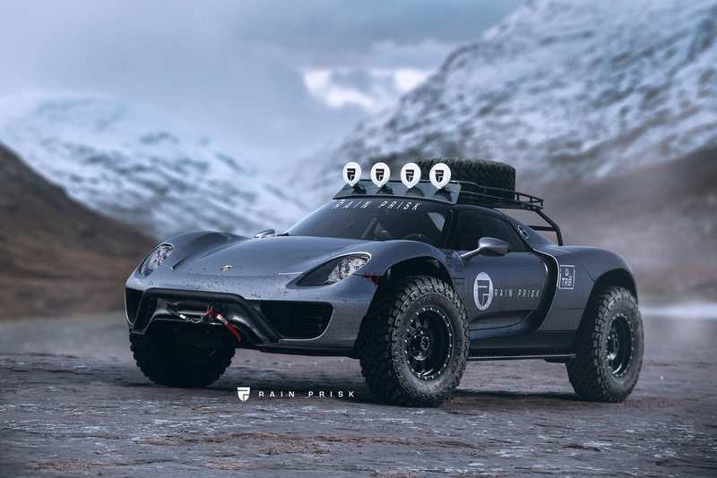 Rain Prisk Off-Road Car concepts