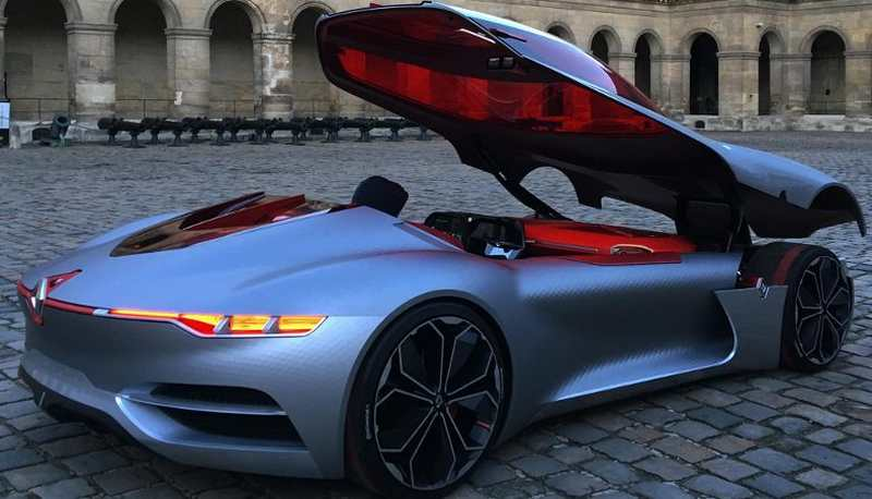 Rally Motor Credit >> wordlessTech | Renault Trezor is the most beautiful concept car of 2016