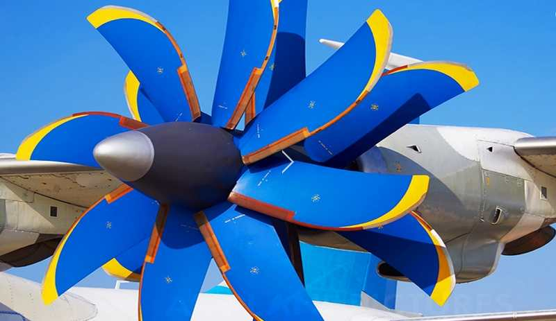 Counter Rotating Propellers : Revolutionary airplane propeller in action wordlesstech
