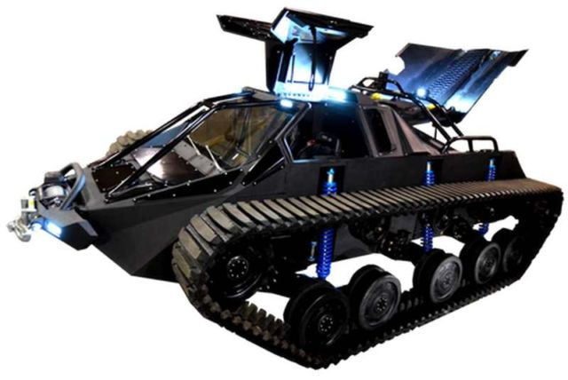 Ripsaw EV2 dual track off-road vehicle