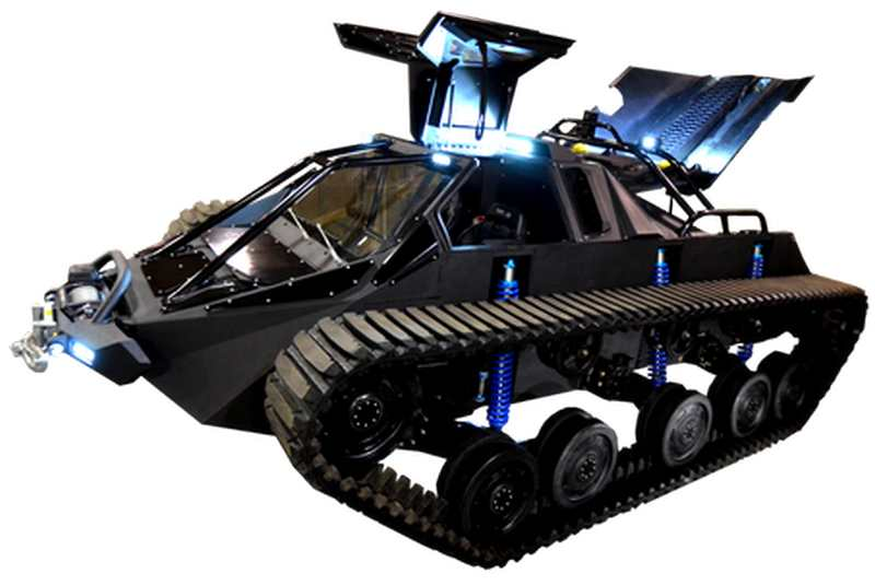 Ripsaw EV2 dual track off-road vehicle (7)
