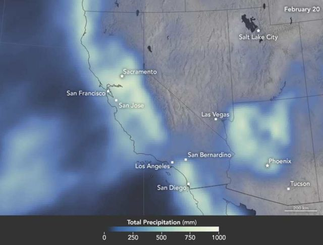 satellite-based measurements of rain, snow, and other wintry precipitation