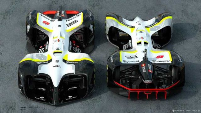 Robocar driverless electric race vehicle (4)