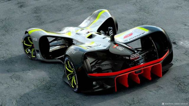 Robocar driverless electric race vehicle (3)