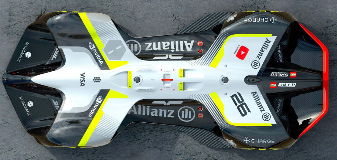 Robocar driverless electric race vehicle (1)
