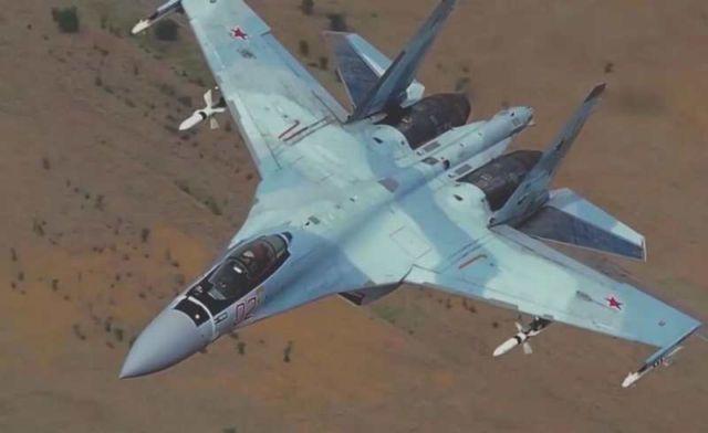 Russian Sukhoi SU-35S