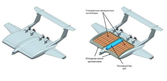 Russia's new giant Ground Effect Vehicle cargo plane