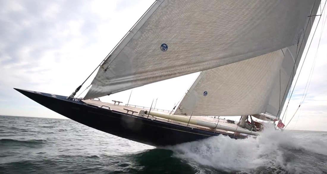 Sailing the J-Class Endeavour