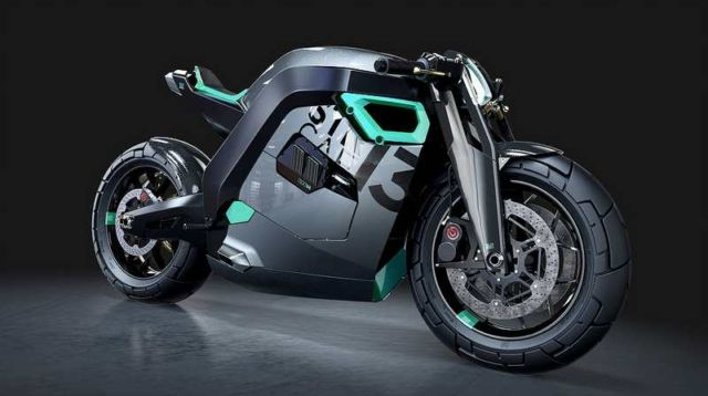 Street Cafe 1300 concept motorcycle