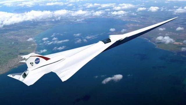 Lockheed Martin's Quiet Supersonic Technology concept (QueSST) X-plane
