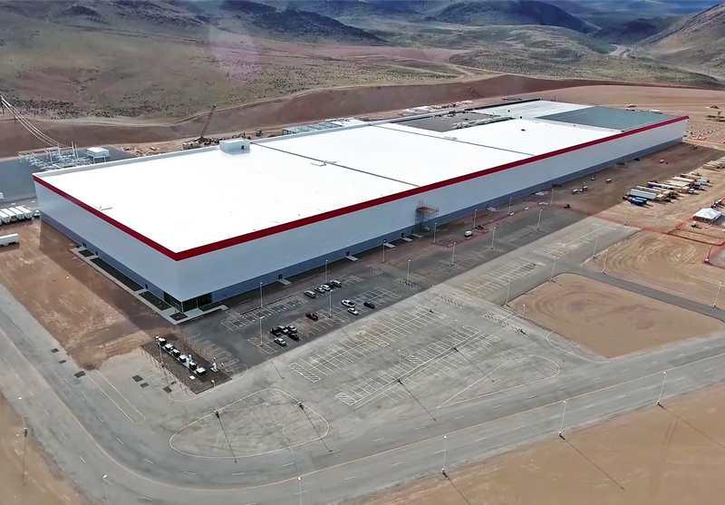 Tesla Gigafactory Plants