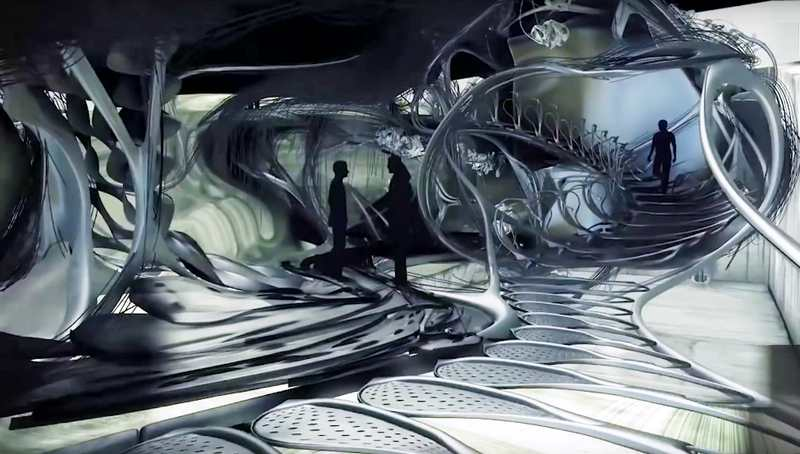 The Liquid Blob House of the Future