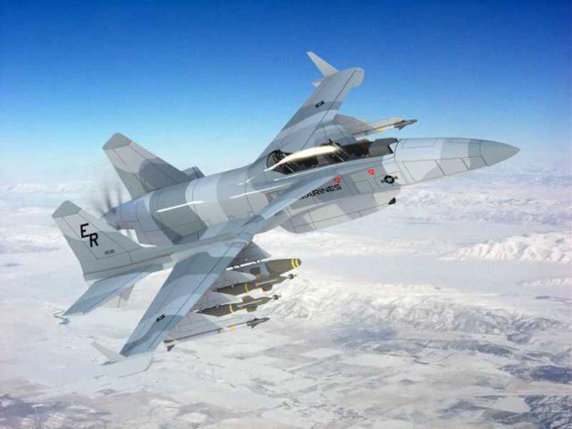 The 'Machete' Attack Plane