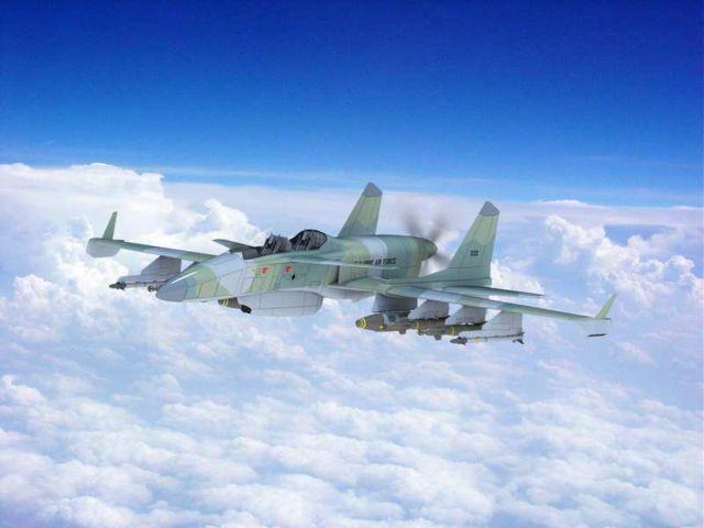 The 'Machete' Attack Plane (6)