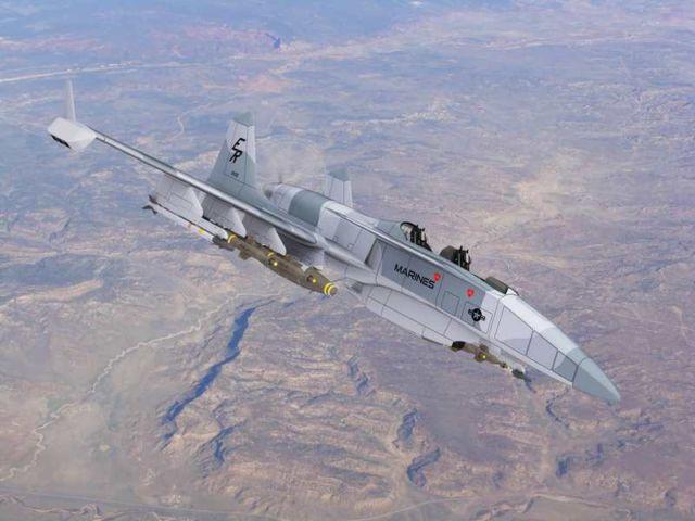 The 'Machete' Attack Plane (5)