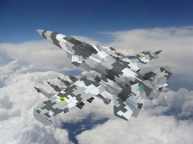 The 'Machete' Attack Plane (4)
