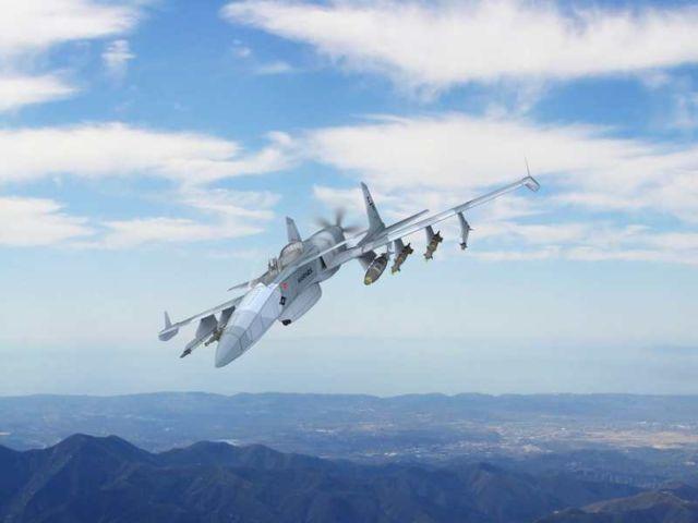 The 'Machete' Attack Plane (3)