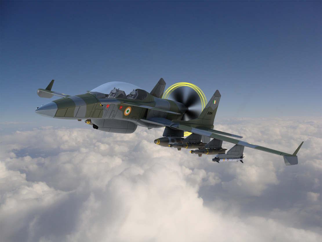 The 'Machete' Attack Plane (1)