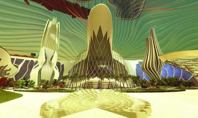 """The UAE """"Mars 2117"""""""