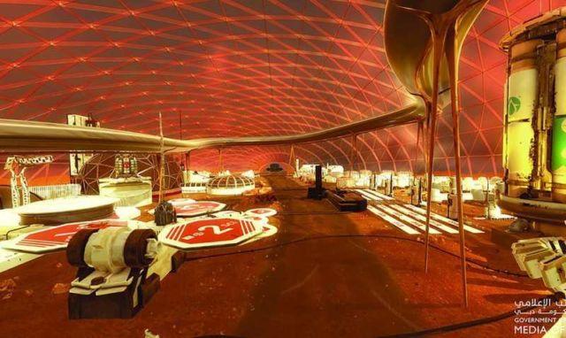 """The UAE """"Mars 2117"""" (1)"""
