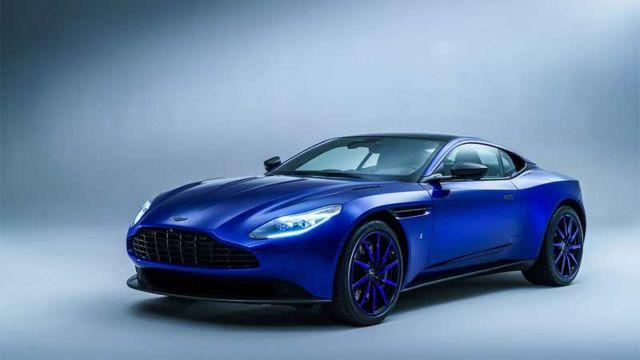 Aston Martin Zaffre Blue DB11