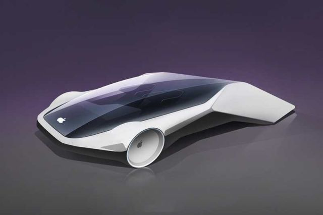 The future iCar concept according to designers