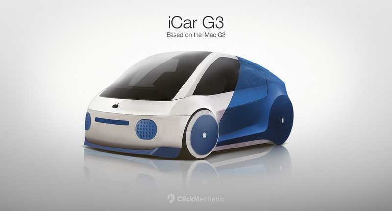Wordlesstech The Future Icar Concept Based On Apple Products