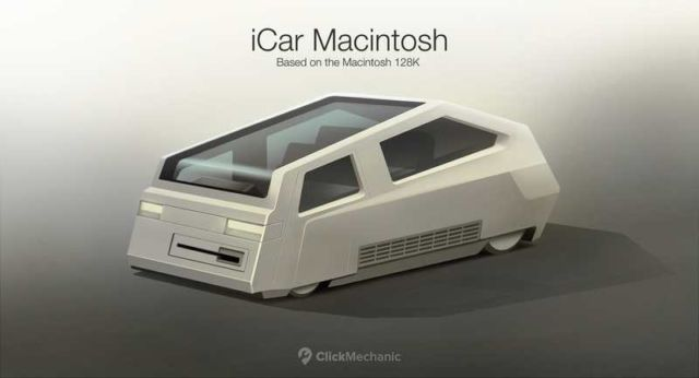 The future iCar concept based on Apple products (2)