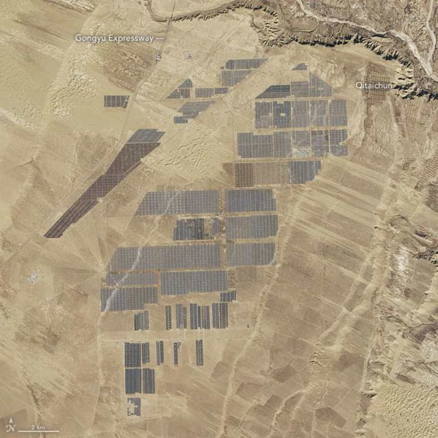 Topaz Solar Farm in California