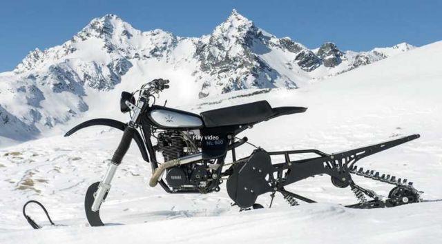Yamaha HL500 NLO Snow Utility bike
