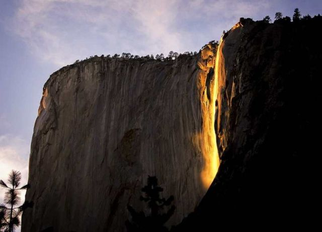 Yosemite National Park's 'Fireball'