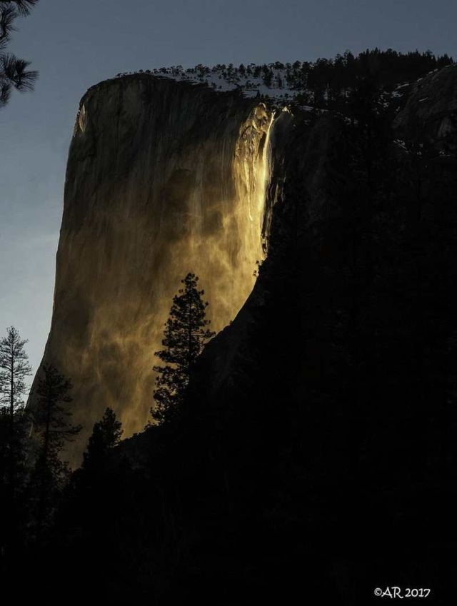 Yosemite National Park's 'Fireball' (1)