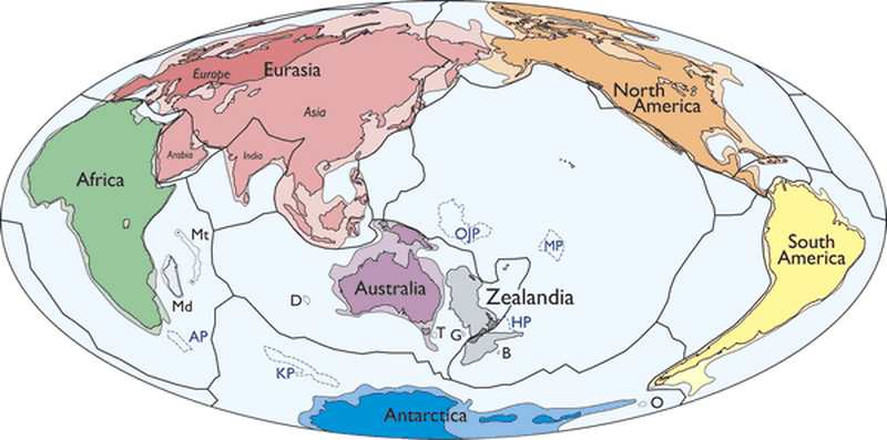 Zealandia Earth's New Continent