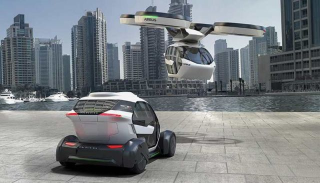 Airbus Pop.Up Modular Flying Car concept