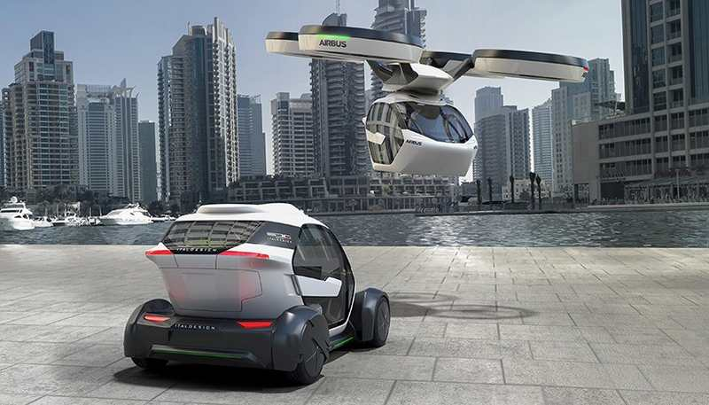 Airbus Pop.Up Modular Flying Car concept (9)