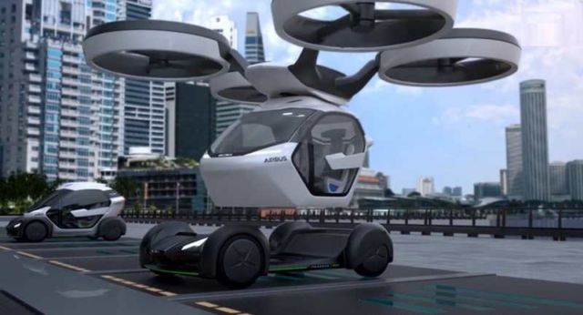 Airbus Pop.Up Modular Flying Car concept (6)