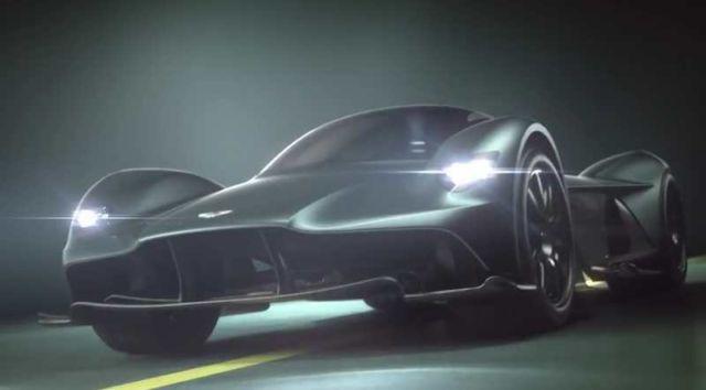 Aston Martin Valkyrie AM-RB 001 Hypercar