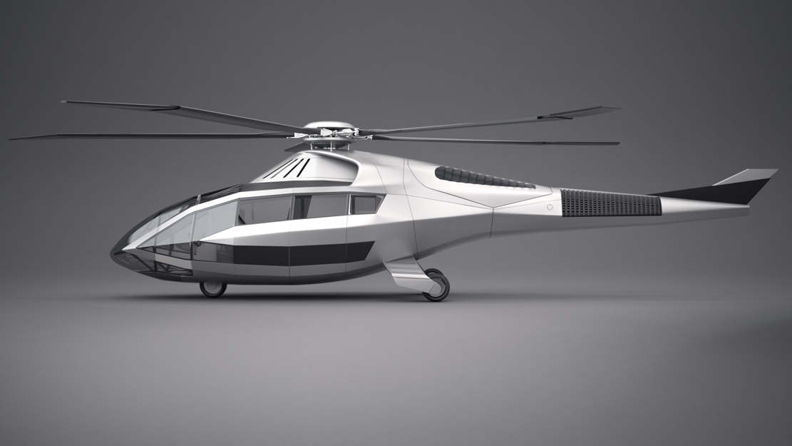 Bell FCX-001 Rotorcraft Helicopter (1)