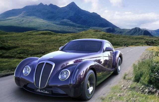 Black Cuillin Coupe concept