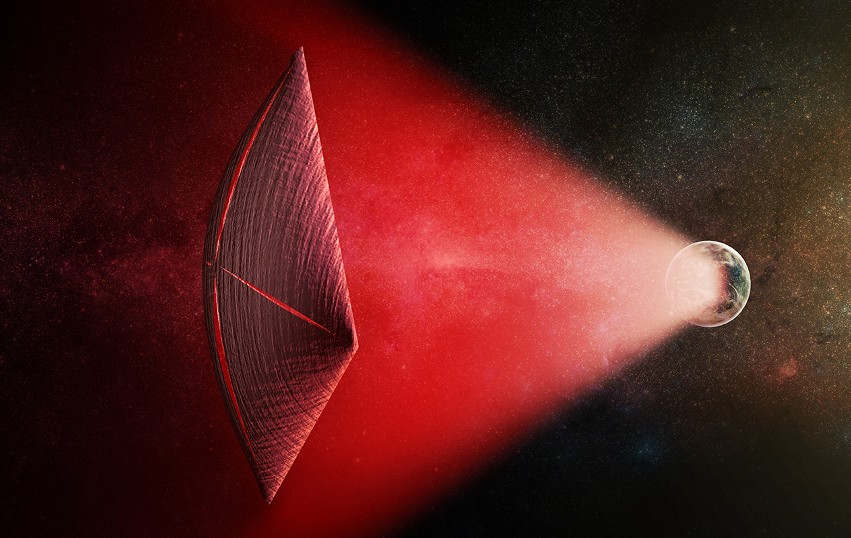 Could Radio Bursts be Powering Alien Spaceships