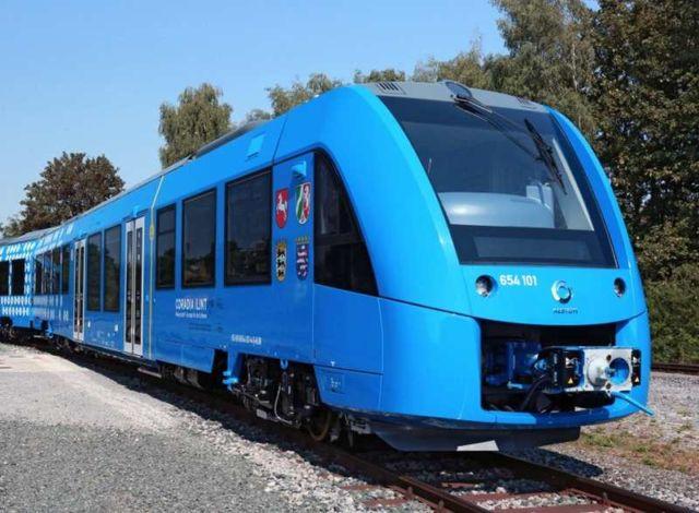 First Hydrogen Train