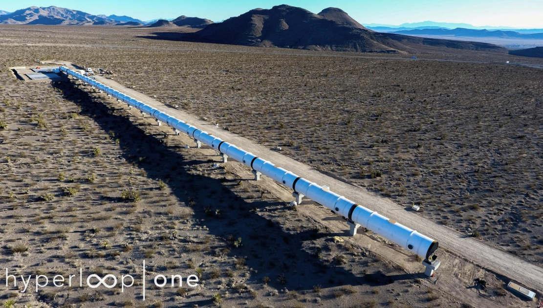 Full-Scale Hyperloop Test Track in Nevada (1)