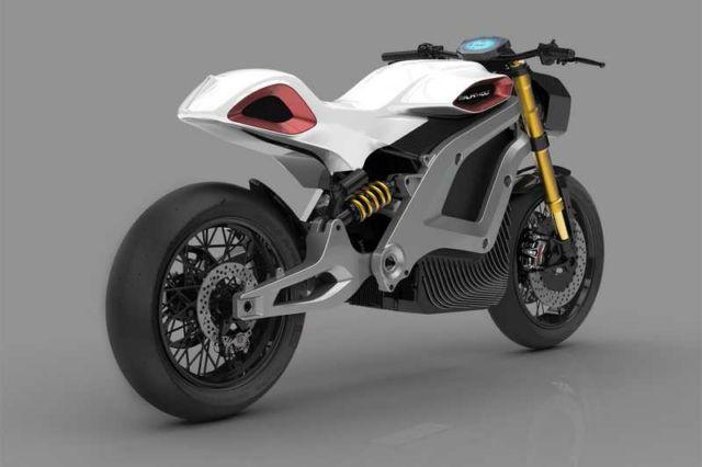 Italian Volt electric motorbike concept