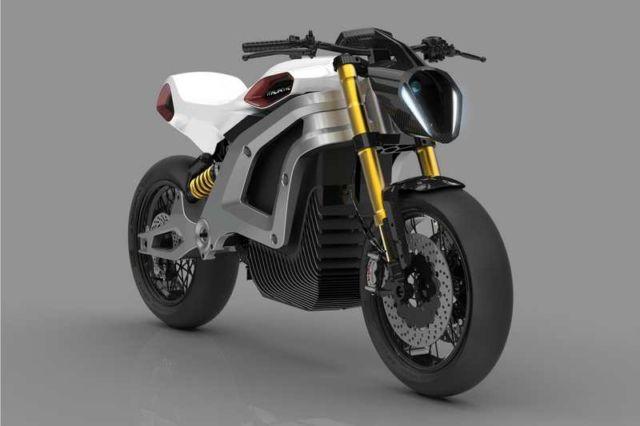 Italian Volt electric motorbike concept (7)