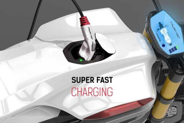 Italian Volt electric motorbike concept (4)