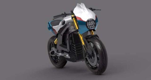 Italian Volt electric motorbike concept (2)