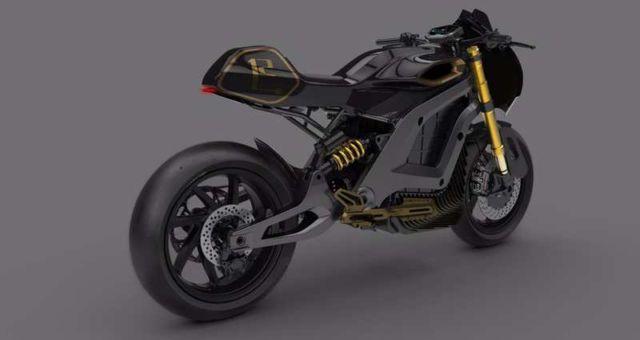 Italian Volt electric motorbike concept (1)